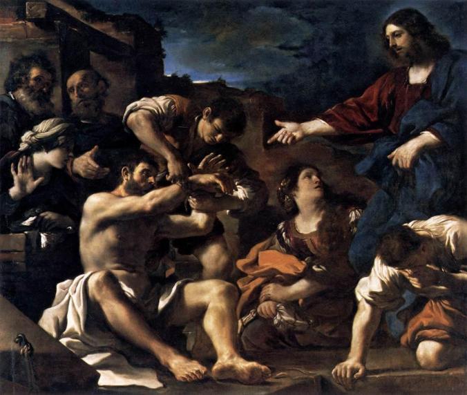 raising-of-lazarus-guercino-1619